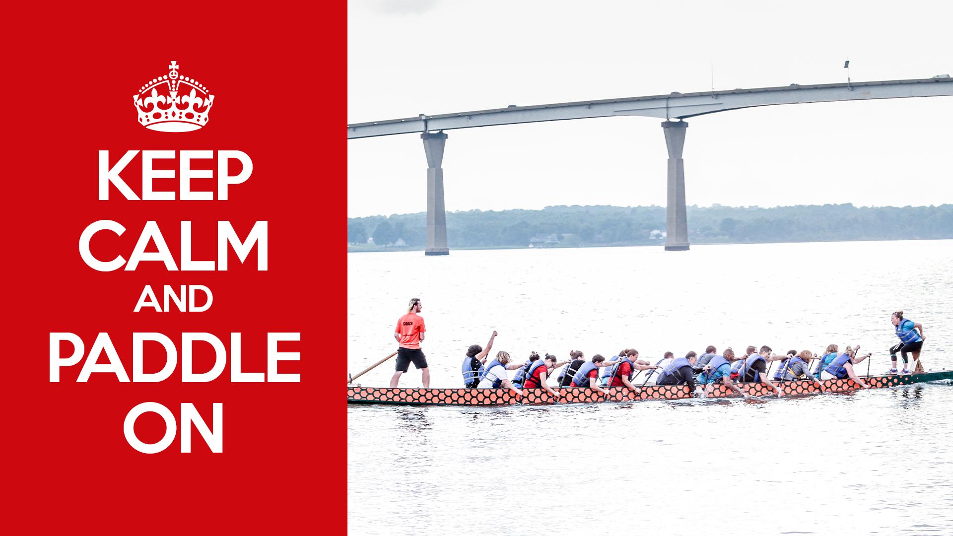 Keep Cal and Paddle On Team image