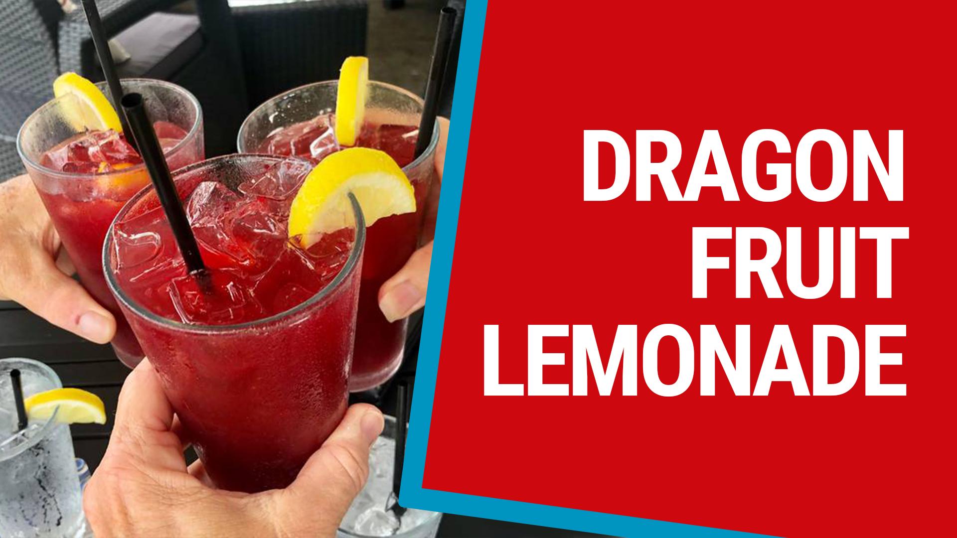 Dragonfruit Lemonade