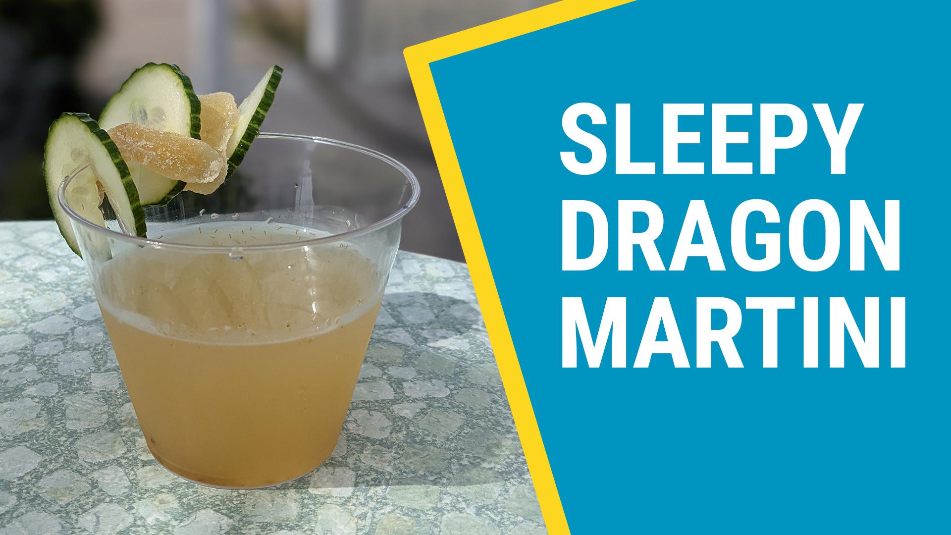 Sleepy Dragon Martini